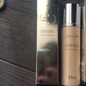 Dior airflash 300 new never used or open spray fo